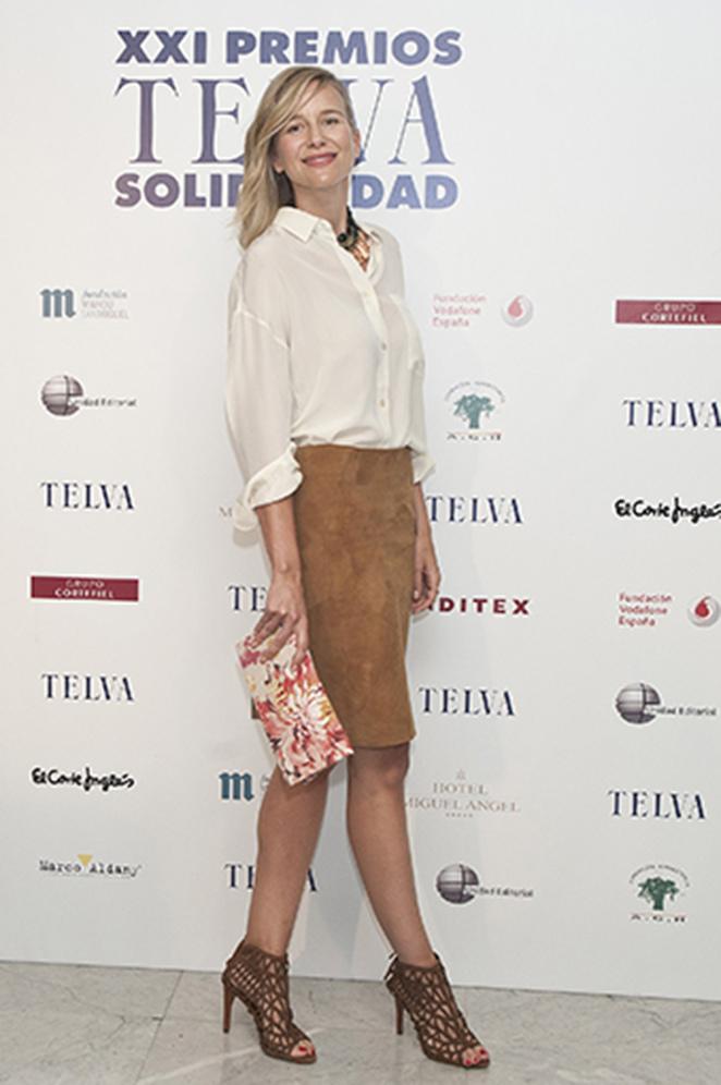 María León en los Premios de Solidaridad de la revista de moda Telva