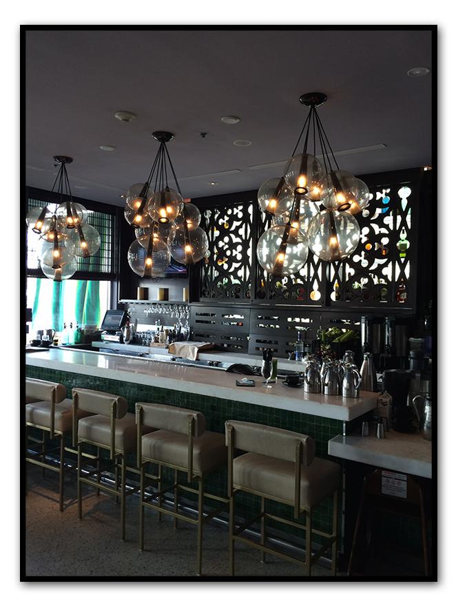El restaurante del Hotel SurfComber, perfecto para tomar una buena comida americana