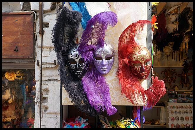 Originales escaparates de las tiendas de Venecia, a los que nos les faltaban ni un detalle!