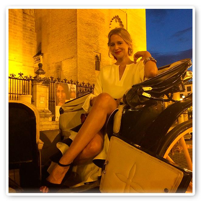 María León con la luz de las noches