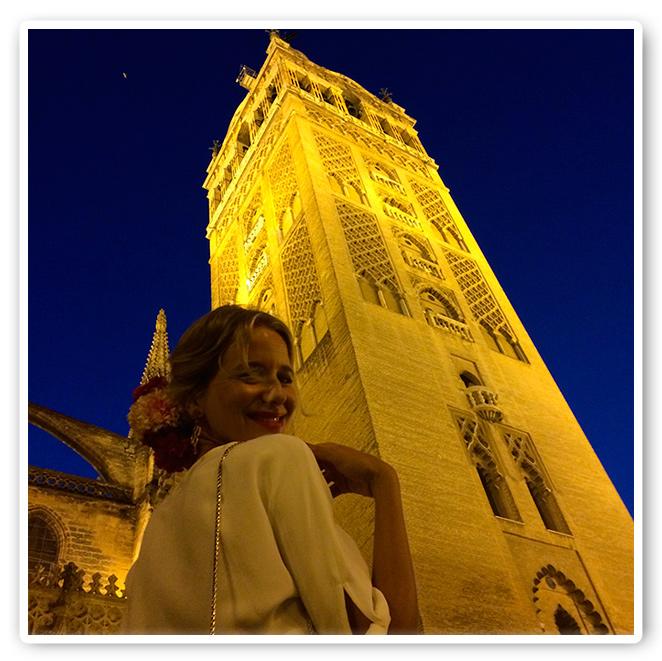 María León en la Torre del Oro