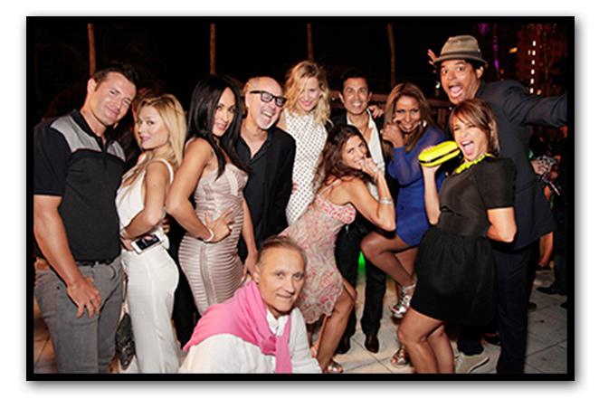 Súper fiesta organizada por TOUS en el Hotel Surfcomber con motivo de Miami Fashion Week
