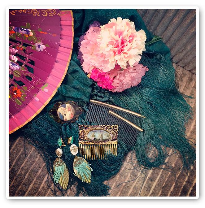 Complementos de flamenca para María León