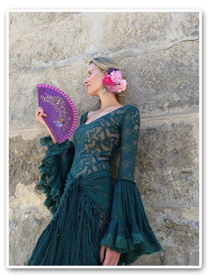 María León con vestido de Pepa Garrido