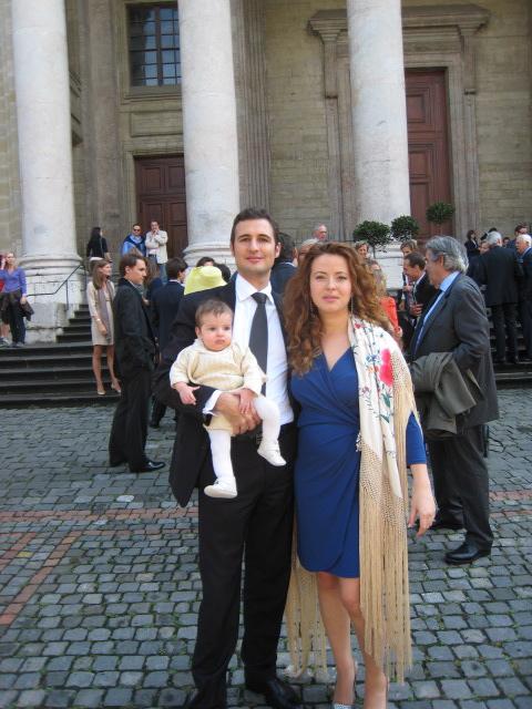Look de Clara de boda