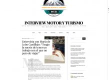 Interview Motor y Turismo