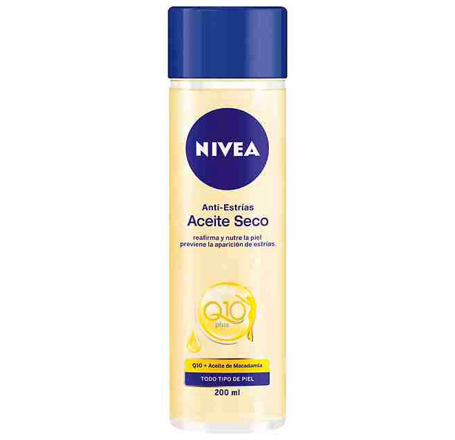 Nivea Q10 Plus Antiestrías Aceite Seco