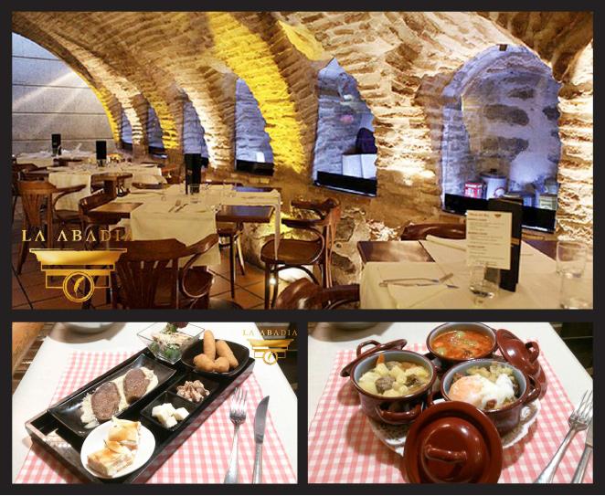 Restaurante La Abadía en Toledo