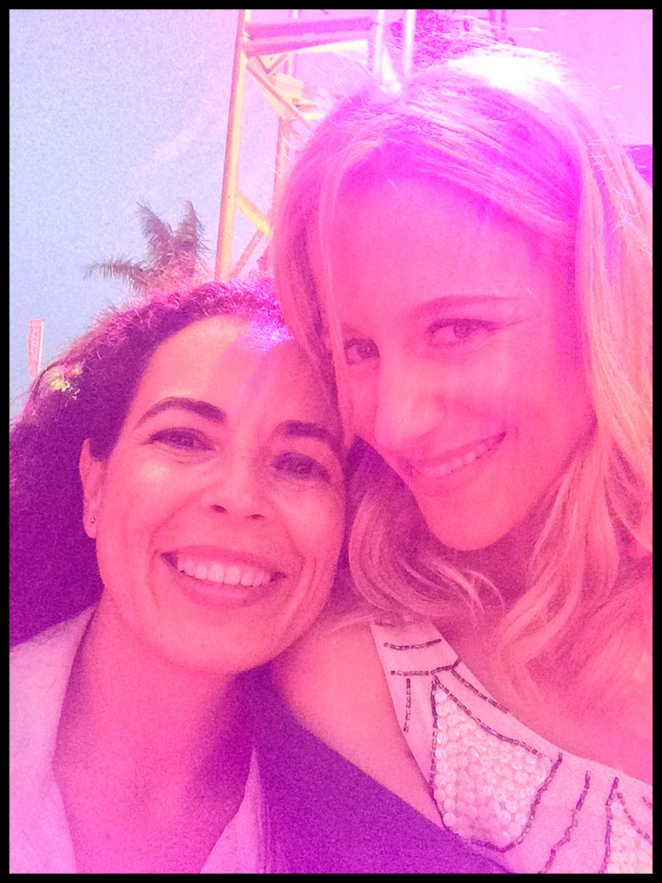 María León en el Marbella Luxury Weekend 2014 con su gran amiga Pilar