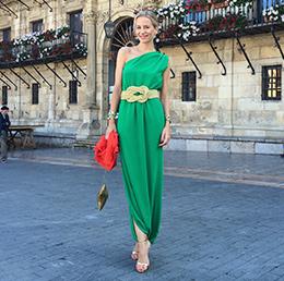 Look de moda María León para un domingo en familia