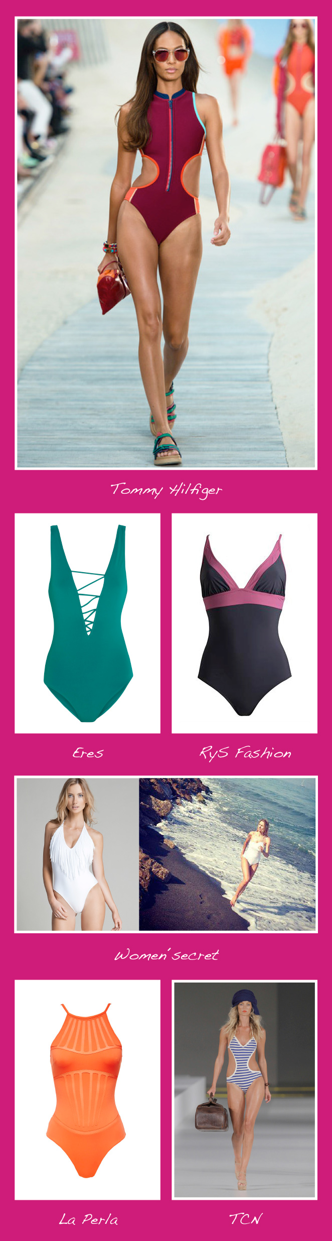 Bañadores de moda para este verano 2014