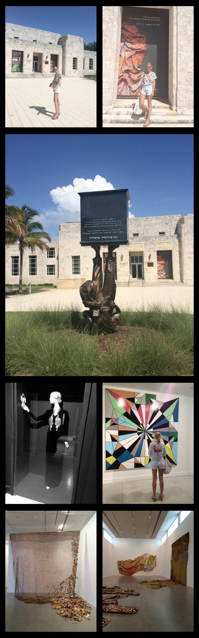 Museo de Arte Bass localizado en Miami Beach.