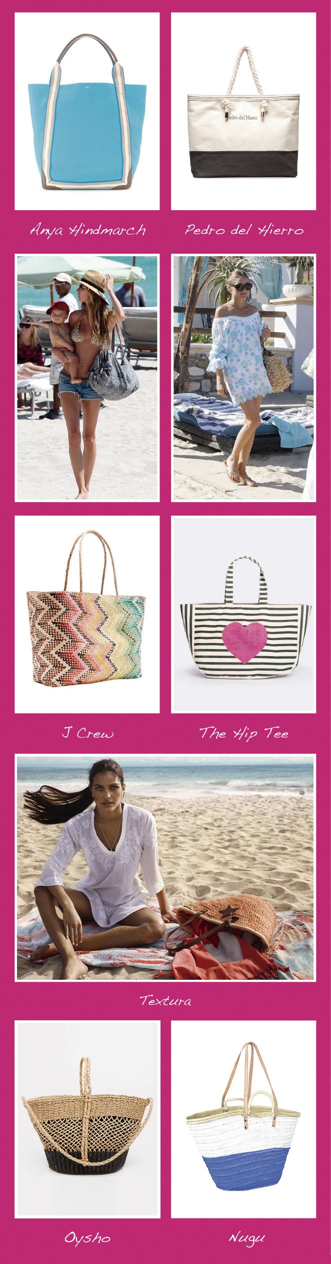 Bolsas de playa para este verano 2014