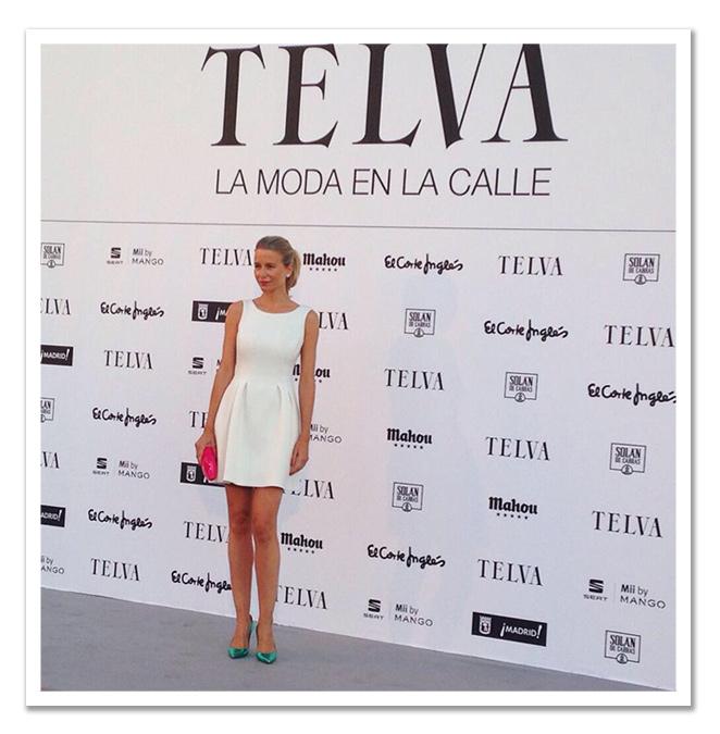 María León en el photocall de Telva