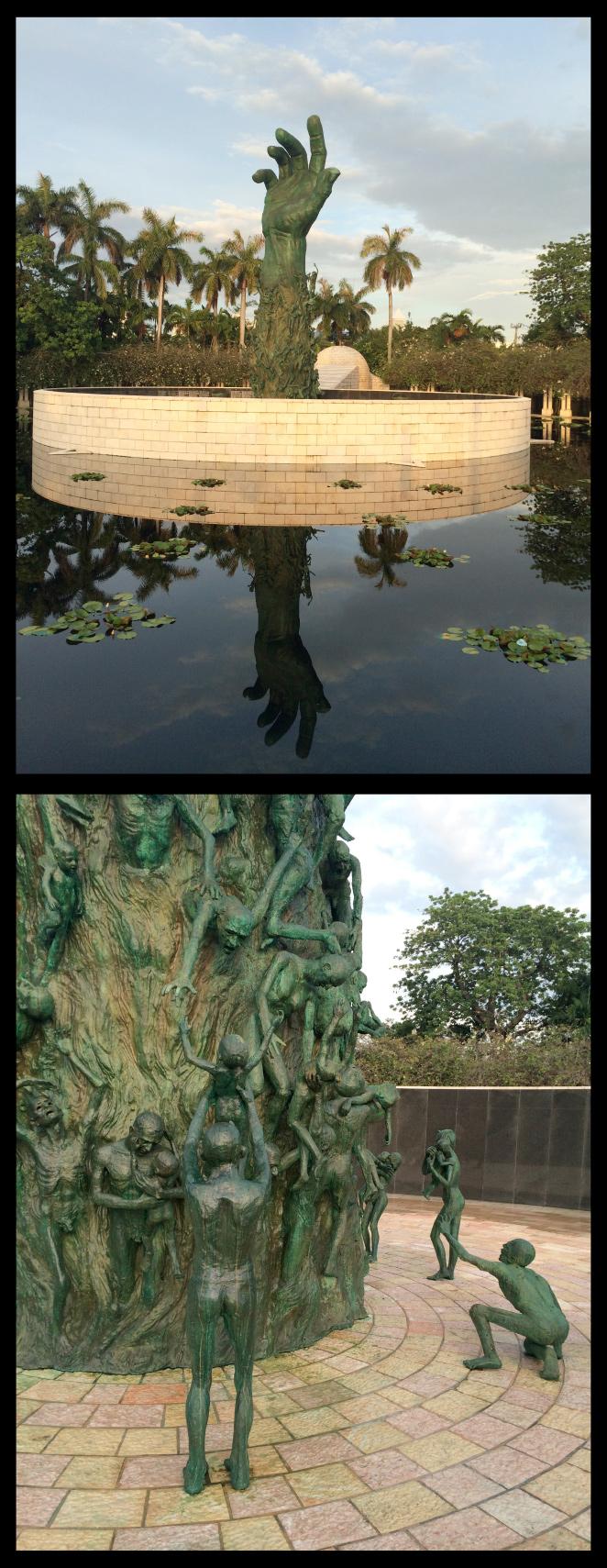 Monumento al Holocausto judío de Miami, obra de  Kenneth Treister