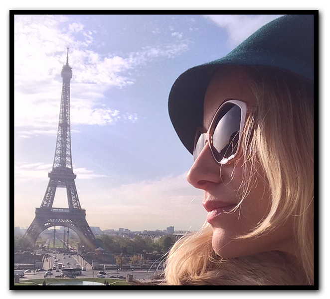 María León en Paris