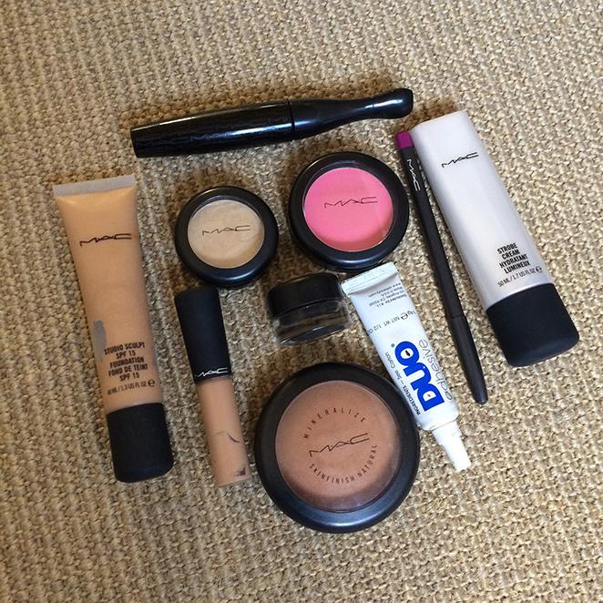 Productos de cosmética de la casa MAC