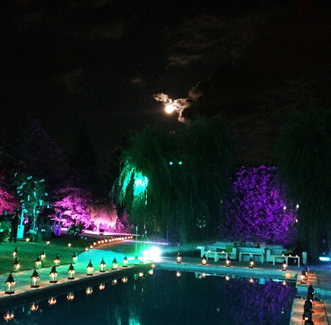 Luna llena en la boda