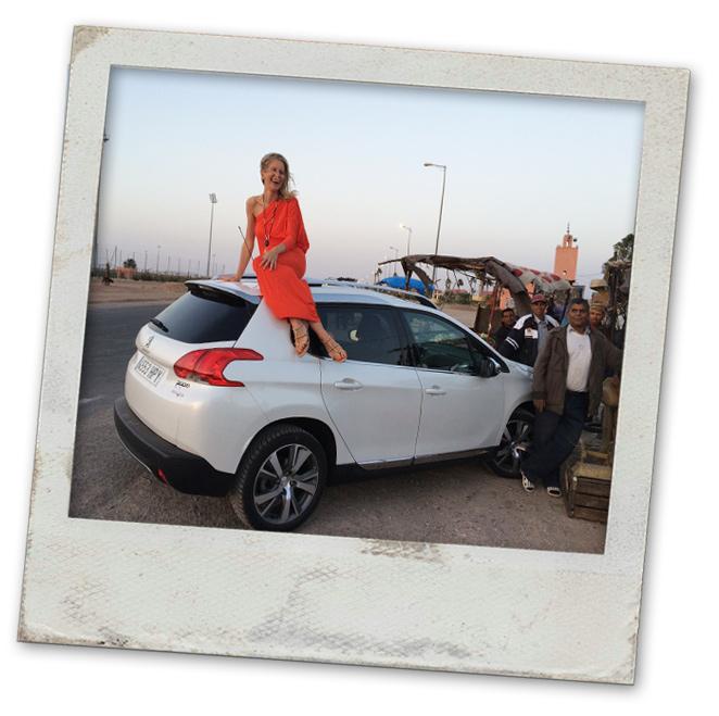 María León sigue su viaje por Marrakech