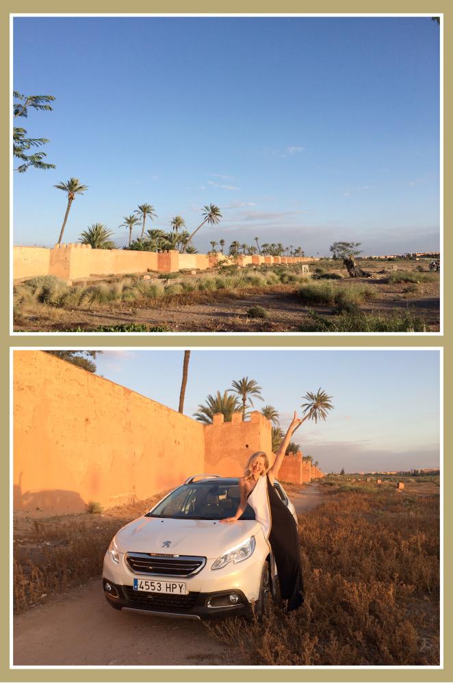 La muralla de la medina de Marrakech