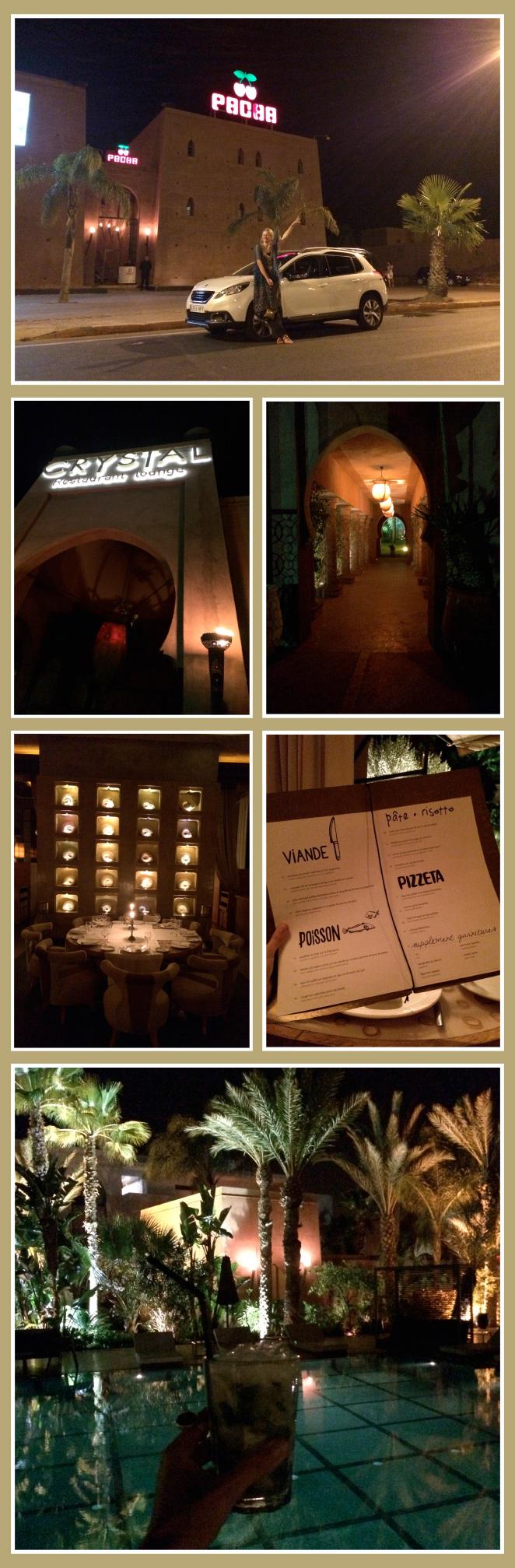 Crystal Restaurant Lounge es el restaurante situado en la discoteca Pachá