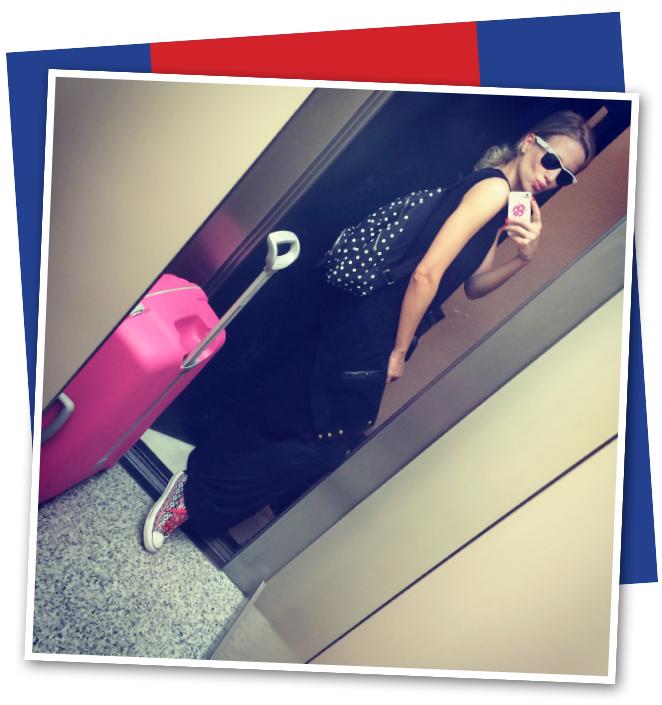 Maria Leon preparada para su viaje a Londres