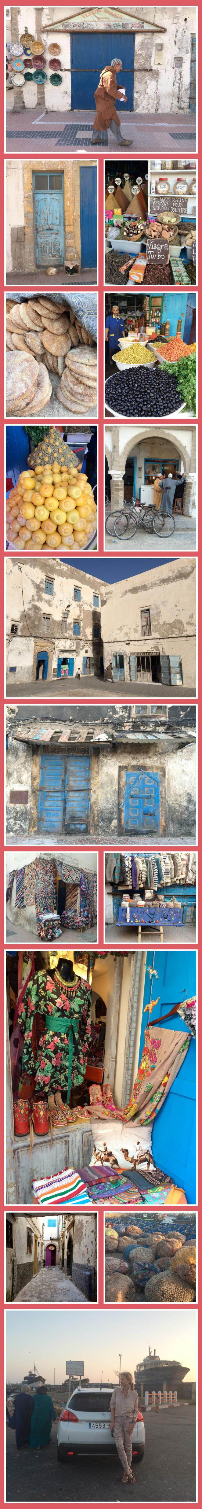 Dando un paseo por la medina o centro histórico de Essaouira