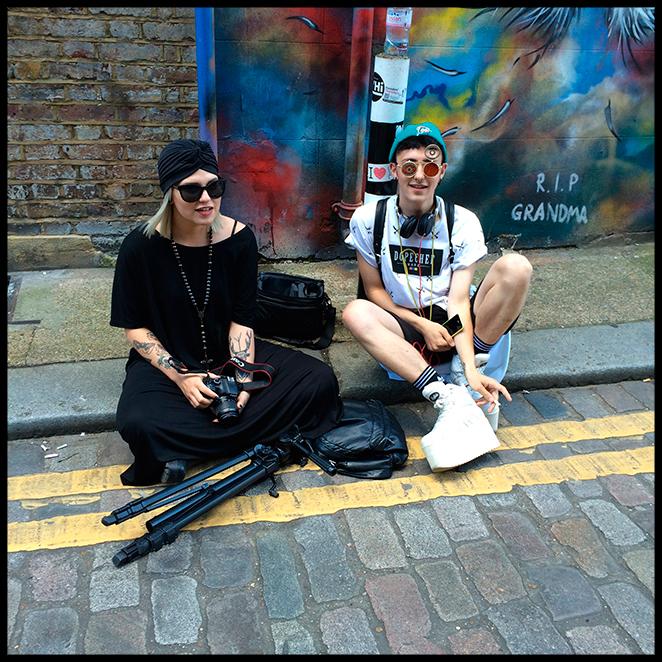 Tendencias capturadas por María León del street style de Londres