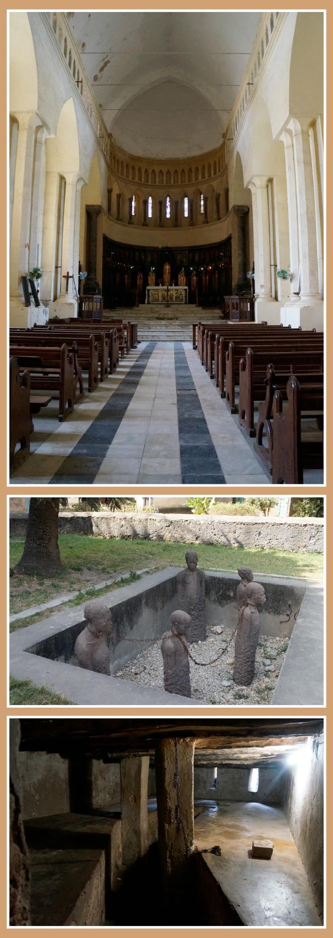 Posteriormente fuimos a visitar al antiguo mercado de esclavos, ahora convertido en una Iglesia Anglicana.