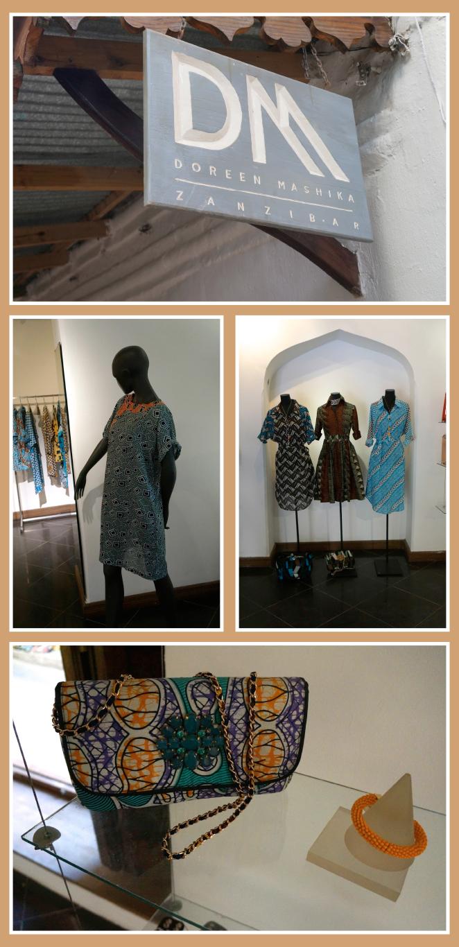 Una tienda para recomendar es la de la famosa diseñadora local, Doreen Mashika, cuyo trabajo es reconocido ya fuera.