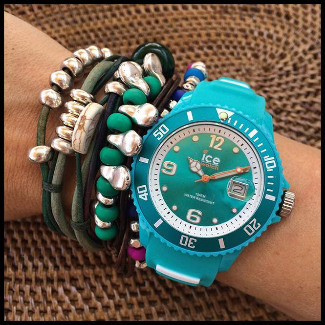 Ice watch, pulseras Experimenta Jewels