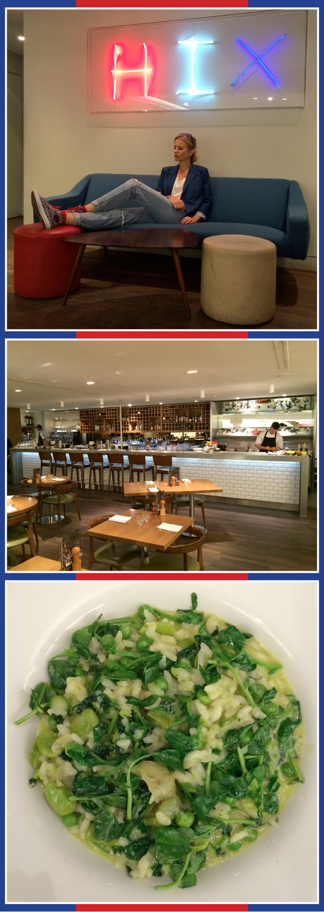 Restaurante en Londres Hix Caviar & Champagne