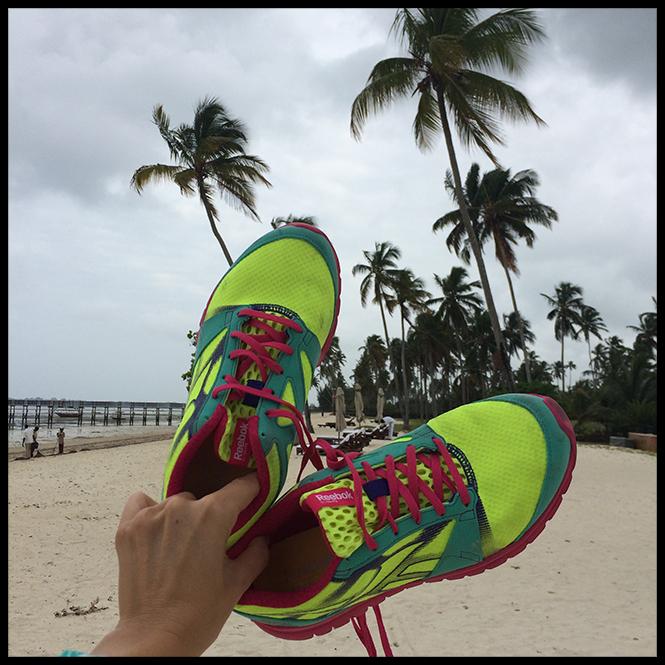 Mis zapatillas Reebok, para no abandonar mis entrenamientos, ya que además de ponerme en forma, me ayudan a desconectar 100% de todo!!