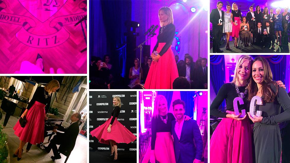 Muy ilusionada con mi premio Cosmopolitan a la blogger del año 2014