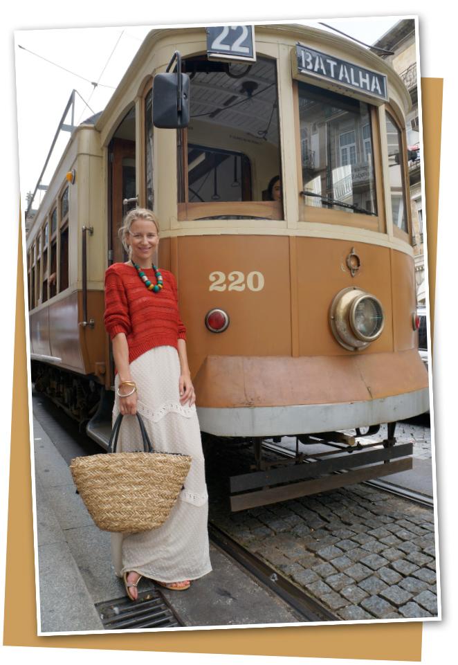 María León nos habla de gastronomía y shopping en su viaje a Oporto