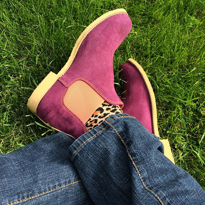 Botas Neon Boots, calcetines de TOPSHOP