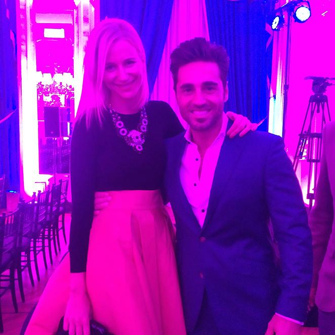 María León con David Bustamante en los premios de la revista Cosmopolitan