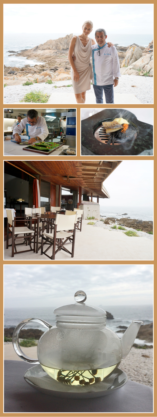 Restaurante Boa Nova del famoso chef portugués Rui Paula