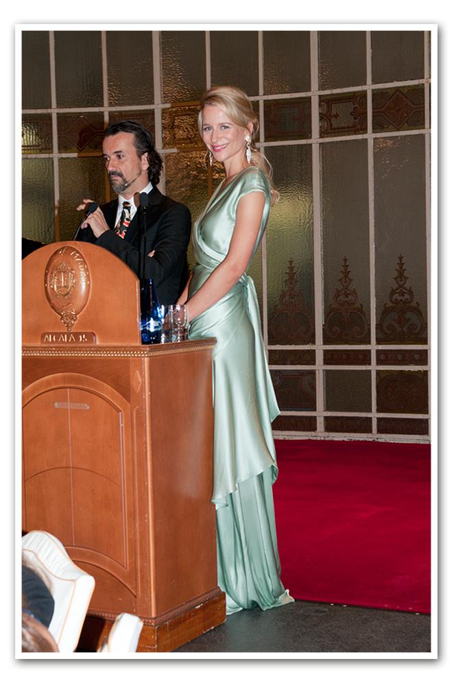 María León en la Gala que la Fundación SOS