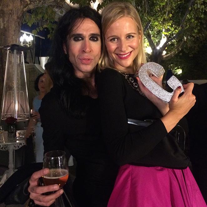 María León con Mario Vaquerizo en los premios de la revista Cosmopolitan