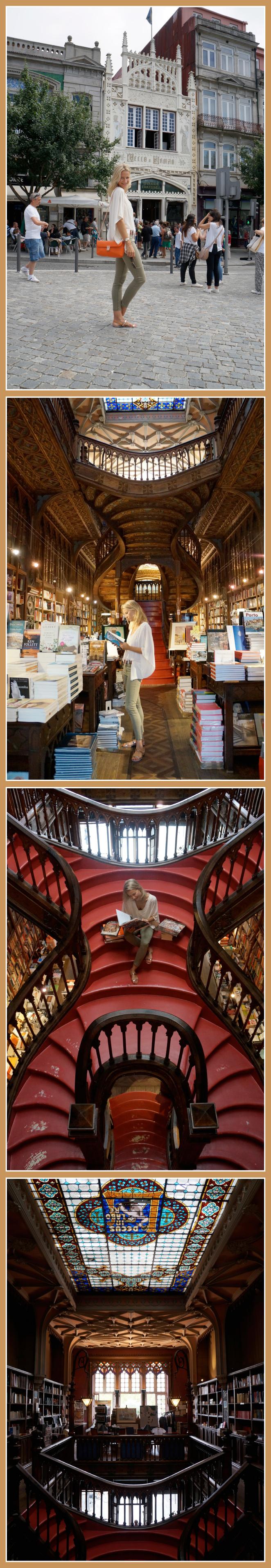 Librería Lello que está considerada como Patrimonio Mundial de la UNESCO
