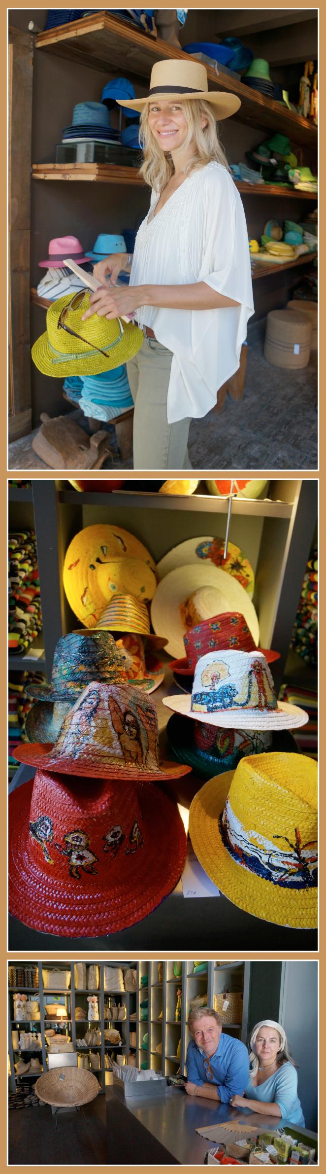 La tienda de sombreros Hats and Cats Lobotaste que está muy cerca del barrio de la Ribeira.