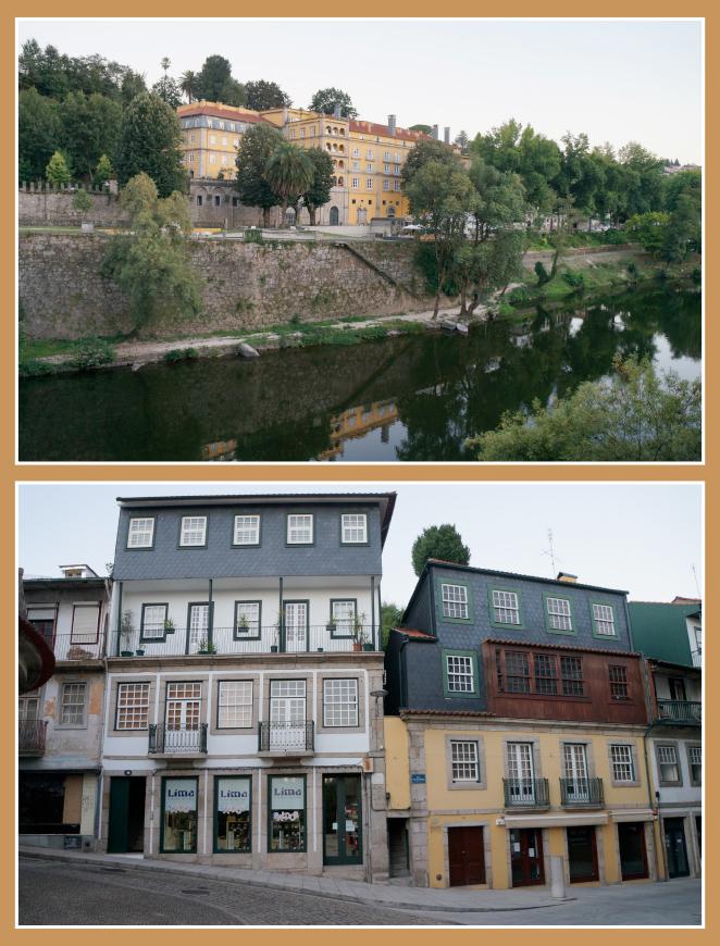 Acabamos el día cenando en un romántico Relais&Chateaux llamado Casa da Calçada, situado en el pueblo de Amarante, que está de camino a Oporto.