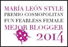 Premio Cosmopolitan 2014-Mejor Blogger