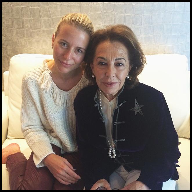 María León con Carmen Navarro