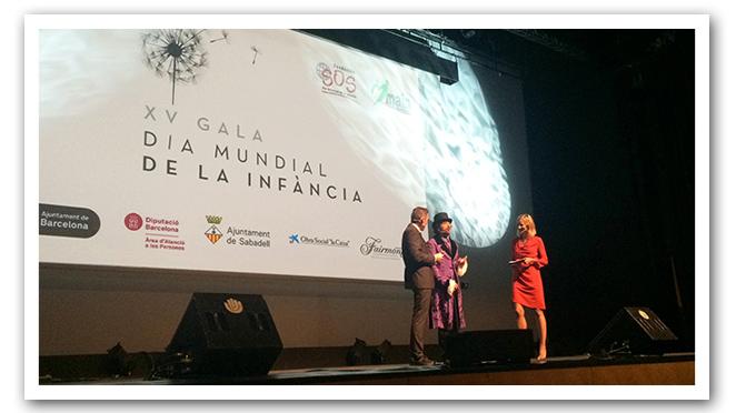 María León a la hora de presentar la gala