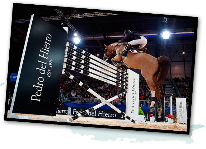 Madrid Horse Week y la firma Pedro del Hierro