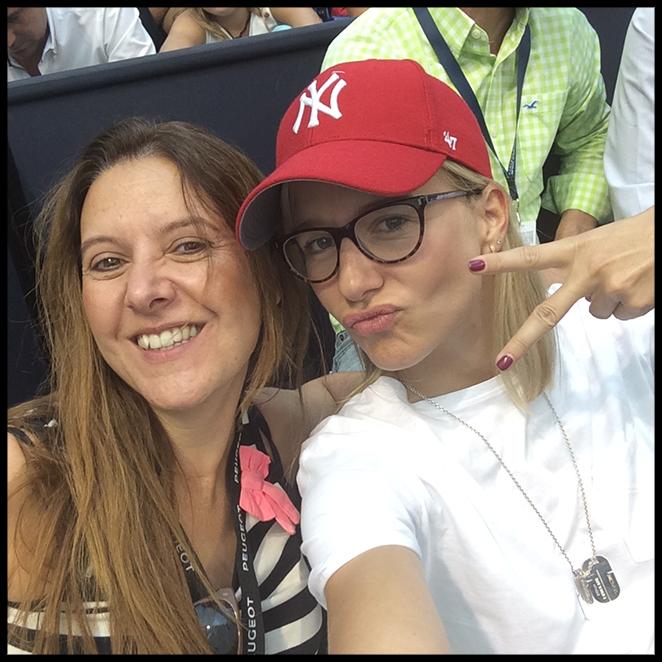 María León con Ana Vellosillo