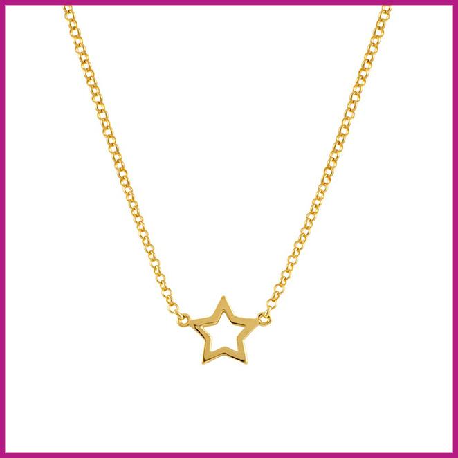 Una cadena con colgante estrella de Aristocrazy