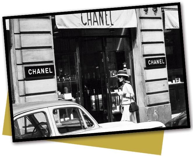 Chanel abre su primera casa de Alta Costura en el mítico número 31 de la Rue Cambon, en París.